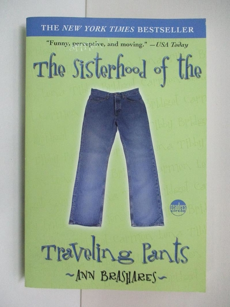 【書寶二手書T5/原文小說_ALT】Sisterhood of the Traveling Pants _BRASHARES, ANN