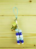 ~震撼  ~慕敏嚕嚕米家族_Moomin Valley 手機吊飾藍珠阿金