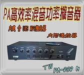 TIW TW PA廣播擴大機 PA-808M 廣播主機+MP3 80W 商店 廣告車 機車專用(折扣優惠中7000)