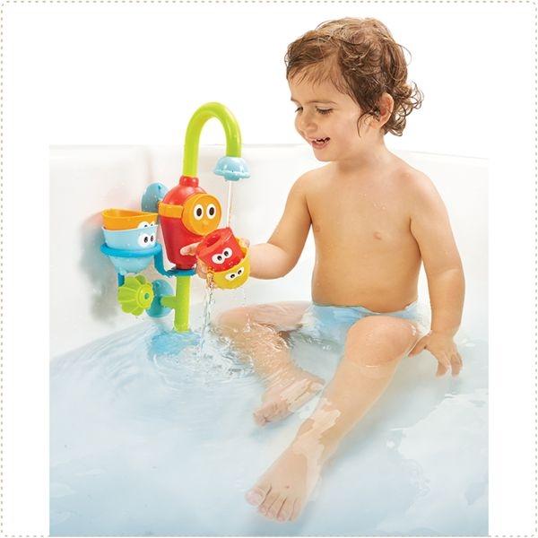 以色列 Yookidoo 戲水玩具-捉迷藏水龍頭齒輪套組/洗澡玩具/麗兒采家