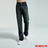 BOBSON 男款中直筒牛仔褲(1706-77)
