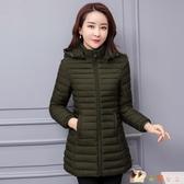 棉衣女中長款2020新款冬季外套韓版寬鬆加肥加大棉服羽絨棉襖HX2507【花貓女王】
