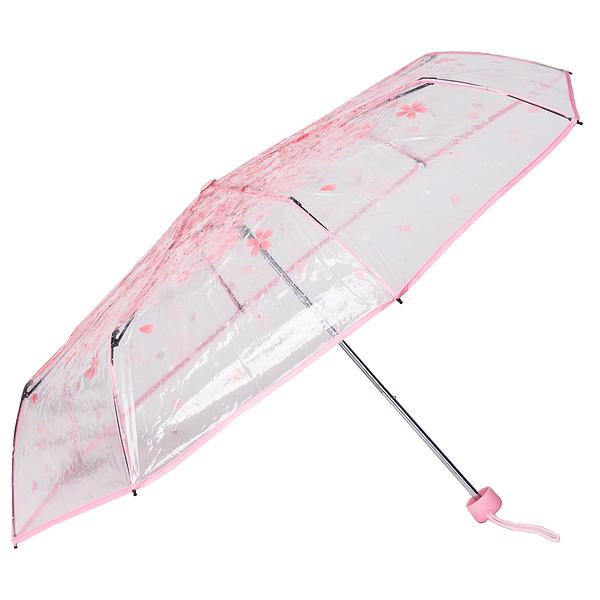 折傘 三折傘 雨傘 日系櫻花傘 折疊傘【FA301】