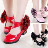 女童公主鞋 女童鞋子女孩公主鞋兒童黑色小皮鞋韓版秋鞋單鞋 nm9836【VIKI菈菈】