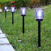 太陽能滅蚊燈戶外防水花園家用室外庭院草坪純物理電擊式驅蚊神器 宜品