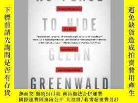 二手書博民逛書店No罕見Place To HideY28384 Glenn Greenwald Metropolitan 出