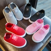 鞋子春秋 男網面透氣鞋1-3歲鞋學步鞋女軟底布鞋夏季【快速出貨】