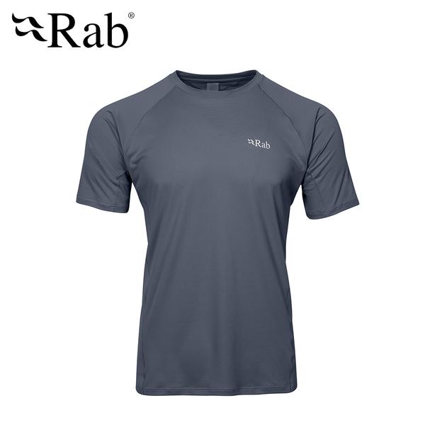 英國 RAB Force SS Tee  透氣短袖排汗衣 男款 鋼鐵藍 #QBU55