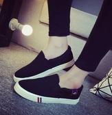 Dingle丁果情侶款ღ時尚簡約帆布鞋情侶鞋*3色