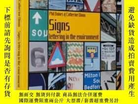 二手書博民逛書店Signs罕見: Lettering in the Enviro
