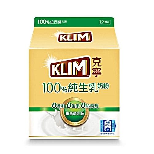 克寧100%純生乳奶粉36Gx12【愛買】