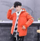 冬季短款棉衣 潮牌加絨加厚面包服 2019新款潮流棉服外套 男學生棉襖 個性時尚男士棉衣
