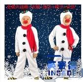 聖誕節兒童雪人表演服紅鼻子男女童演出服裝【英賽德3C數碼館】