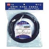 《鉦泰生活館》PX大通 寬頻網路數位電視專用電纜線 P5C-2P-5M