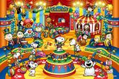 【拼圖總動員 PUZZLE STORY】馬戲團 日本進口拼圖/Epoch/史努比 Snoopy/1000P
