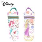 【日本正版】迪士尼公主 圓筒筆袋 鉛筆盒 筆袋 小美人魚 長髮公主 Disney 097906 097913