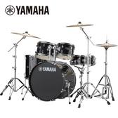 【敦煌樂器】YAMAHA RYDEEN 傳統爵士鼓組 黑色款