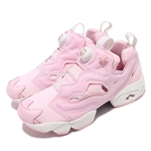 Reebok Insta Pump Fury 麥兜 粉紅 米白 復古奶油底 聯名款 女鞋 運動鞋【ACS】 EF8381