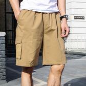 夏季爸爸裝休閑短褲純棉寬松五分款 JA349 『寶貝兒童裝』