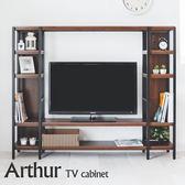 電視櫃 收納櫃 置物櫃【X0041】 亞瑟雙排層架收納電視櫃 MIT台灣製  收納專科