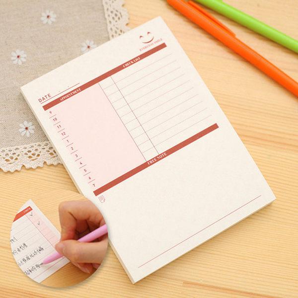 創意文具 可撕辦公待辦計畫小紙條/備忘錄(小) 桌曆/行事曆 ◆86小舖◆