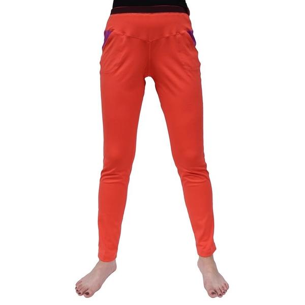 【南紡購物中心】【Vital Salveo 紗比優】VITAL ENERGY 女運動休閒合身長褲-贈女寬口襪1雙