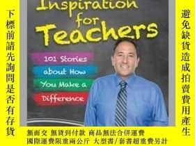 二手書博民逛書店Chicken罕見Soup for the Soul: Inspiration for TeachersY41