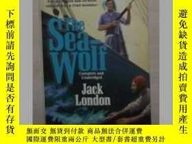 二手書博民逛書店英文原版罕見The Sea Wolf by Jack Londo