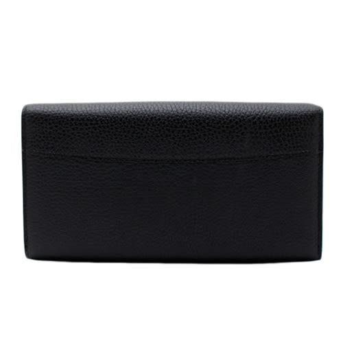 Louis Vuitton LV M61248 Capucines 經典花紋皮革壓紋鎖扣長夾.黑 全新 預購【茱麗葉精品】