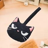 Kiro貓‧酷黑貓 立體造型 拉鍊配件/包包掛飾/拉鍊頭吊飾【222357】