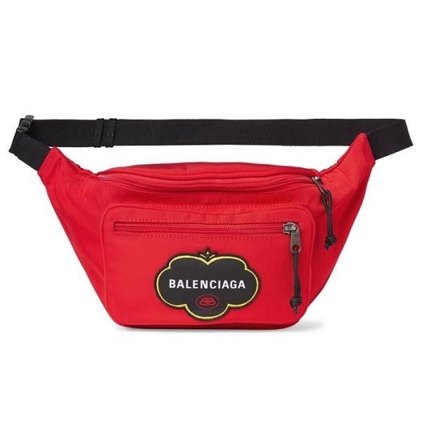 ■全新真品■專櫃65折■Balenciaga 482389 Explorer 科技纖維 腰包/斜背包 紅色