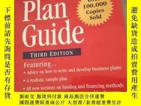 二手書博民逛書店Ernst罕見& Young Business Plan Gui