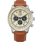 CITIZEN星辰 都市雅痞光動能計時腕錶 CA4500-16X