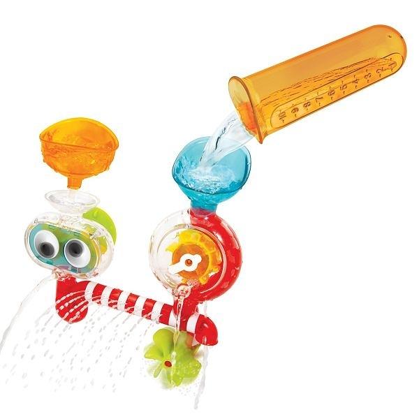 以色列 Yookidoo 大眼瀑布透視組/洗澡玩具