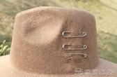 (快出)遮陽帽 正韓個性街頭風百搭毛呢帽子新款保暖魚夫帽男女通用小禮帽潮