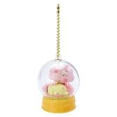 〔小禮堂〕布丁狗 水晶球雪球造型吊飾《黃》雪球掛飾.擺飾.燦爛櫻花系列 4901610-20004