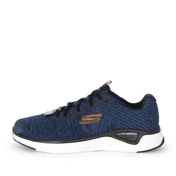 Skechers Solar Fuse [52758WNVBK] 男鞋 慢跑 運動 休閒 避震 耐磨 柔軟 舒適 深藍