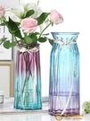 【特大號兩件套】玻璃花瓶透明客廳插花擺件【小獅子】