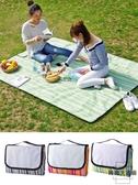戶外野餐墊可折疊野餐布防水野炊地墊【時尚大衣櫥】