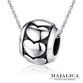925純銀項鍊Majalica 純銀飾「滾動愛情」愛心 個性款*單個價格*附保證卡