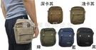 ~雪黛屋~HTW 腰包5.5吋二層主袋手機穿過皮帶肩背斜側背隨身物品工作袋外掛或穿過皮帶固定L217