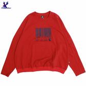 【三折特賣】American Bluedeer 條碼刺繡上衣 秋冬新款