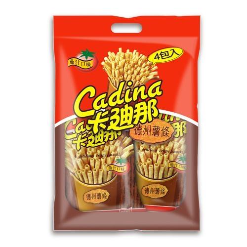 卡迪那德州薯條量販包-茄汁168g【愛買】
