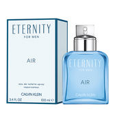 【Calvin Klein】CK Eternity Air 永恆純淨 男性淡香水 100ml