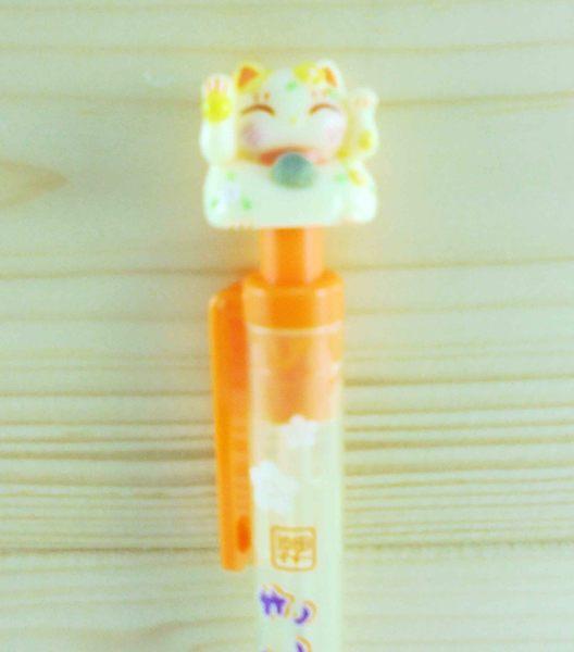 【震撼精品百貨】招財貓_招き猫~招財貓造型自動鉛筆-黃色筆桿