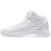 Adidas Cloudfoam Ilation Mid 男 全白 學生鞋 籃球鞋 球鞋 中筒 AW4366