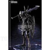 5月預收玩具e哥 海外限定景品 PS4電玩黑暗靈魂雕像收藏輯vol.3 黑騎士 大劍再販代理35568