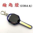 【JIS】M032 迷你手電筒鑰匙燈 COB LED 泛光 夜間開鎖 戶外便攜 背包燈 夜間行走安全燈