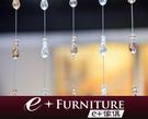 『 e+傢俱 』CB15 水晶玻璃珠簾   門簾   窗簾   隔間簾   吊飾  珠簾   飾品