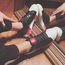 冬季韓國小白鞋運動男生百搭貝殼鞋休閒平底男跑步鞋子街頭潮